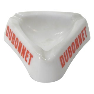 Vintage French Dubonnet Ashtray For Sale