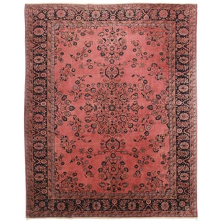 Handmade Turkish Wool Rug - 7′10″ × 9′10″ For Sale