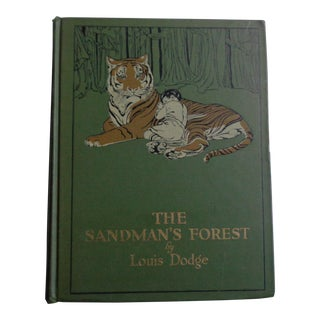 1910s Antique Childrens's Book the Sandman's Forest by Louis Dodge For Sale