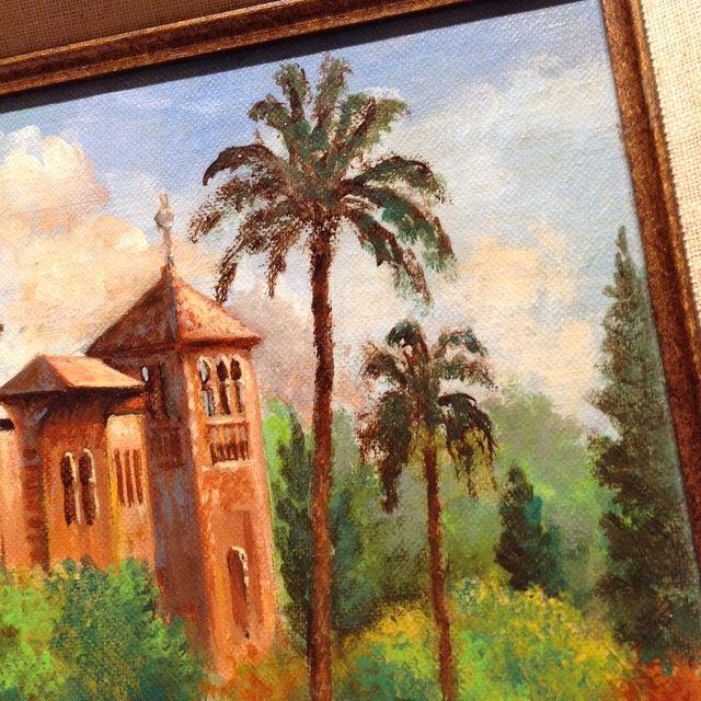 Plaza De America, Seville Spain - Oil Painting For Sale - Image 10 of 11