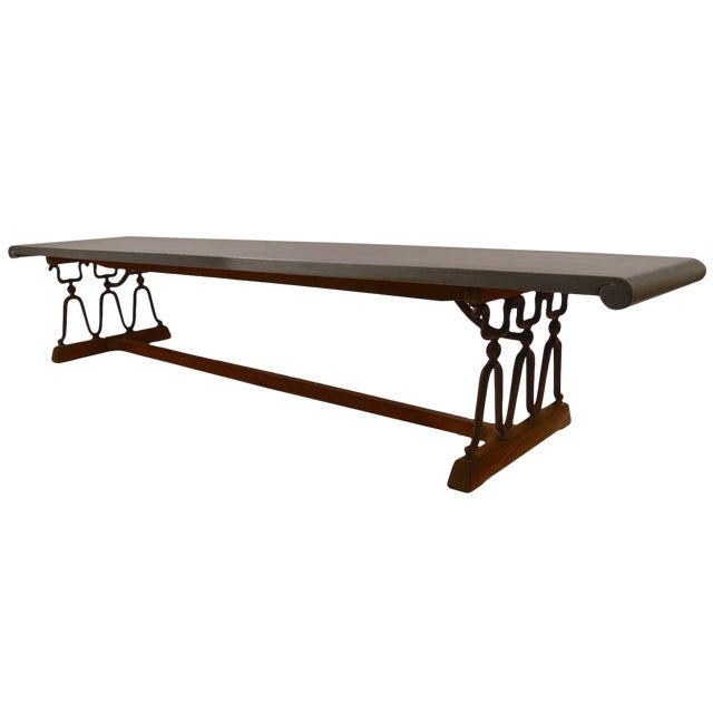 "John Van Koert for Drexel ""Casa Del Sol"" Bench Coffee Table For Sale"