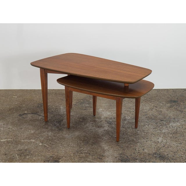 1950s Bertha Schaefer Folding Coffee Table For Sale - Image 12 of 12