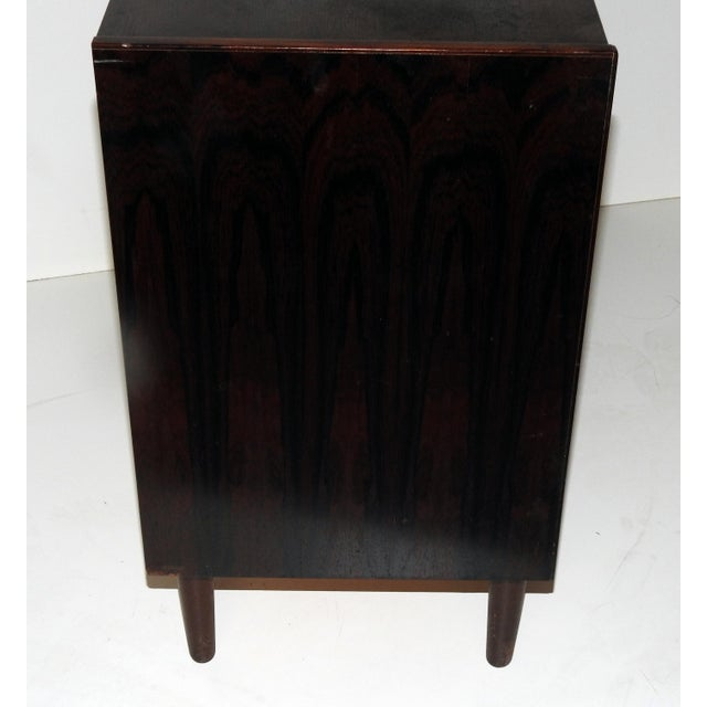 Danish Rosewood Bachelor's Chest - Image 4 of 6