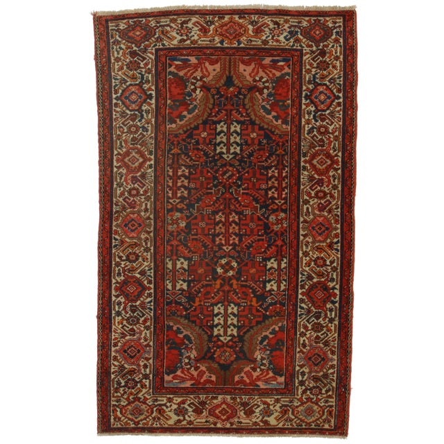 Rugsindallas Persian Malayer Wool Rug - 3′11″ × 6′6″ For Sale