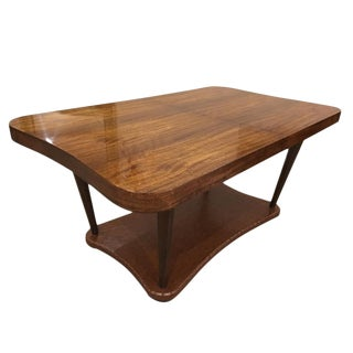 1940 Art Deco Gilbert Rhode Dining Table For Sale