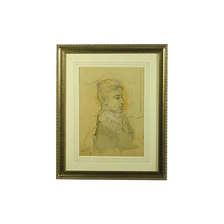 Original Drawing of a French Nobleman For Sale