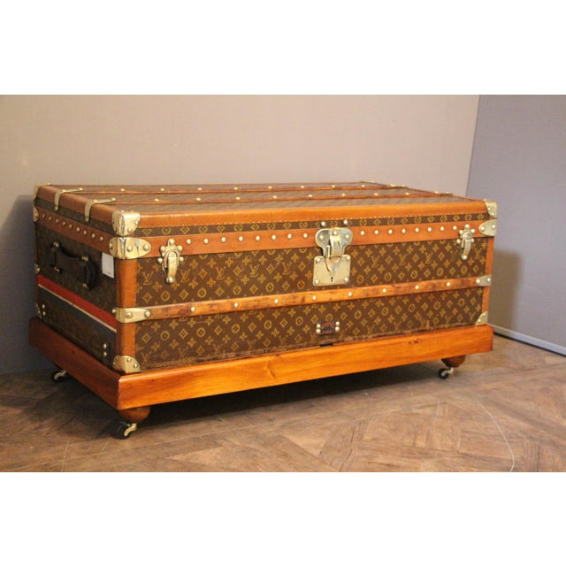 1920s 1920s Louis Vuitton Cabin Steamer Trunk For Sale - Image 5 of 13