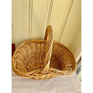 Rustic Natural Wood Decor & Storage Basket Preview