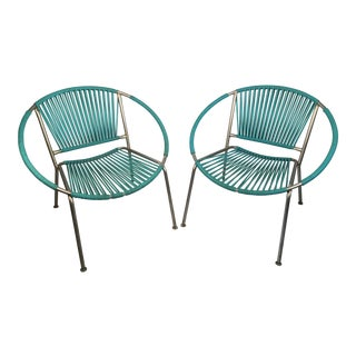 1960s Mid-Century Modern Ames Hoop Chairs - a Pair For Sale
