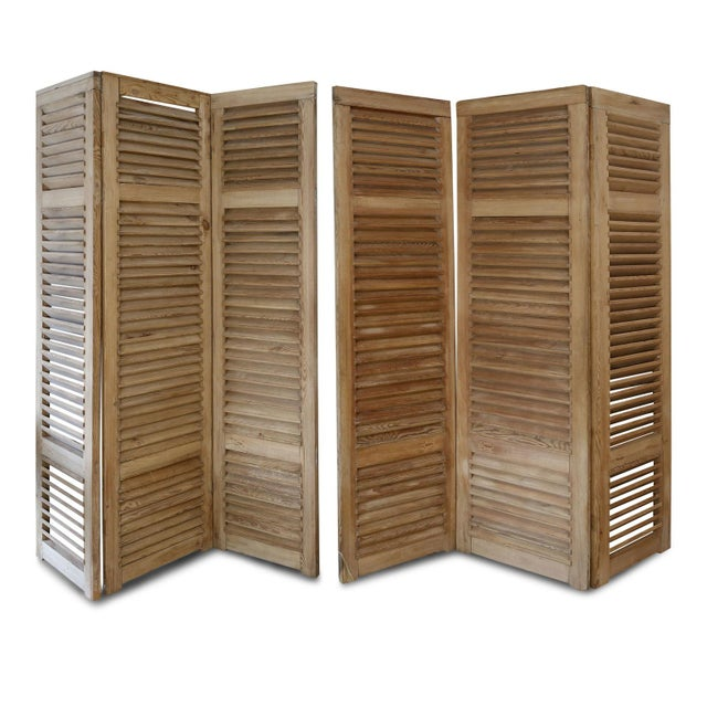 Set of Six Vintage French Shutters For Sale - Image 9 of 13