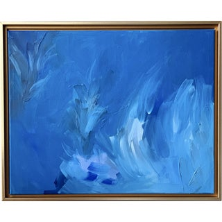 All the Blues Contemporary Painting by Lindsey Weicht For Sale