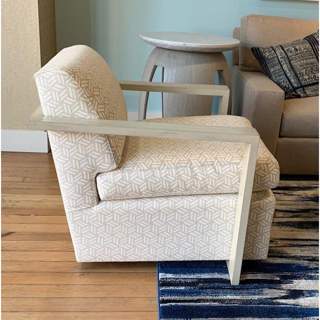 The Troy Chair from Vanguard Furniture is part of the Thom Filicia Collection. There are two Troy chairs available. The...
