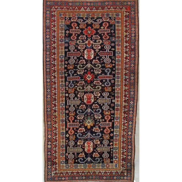 Antique Persian Caucasian Kazak For Sale In Boston - Image 6 of 6