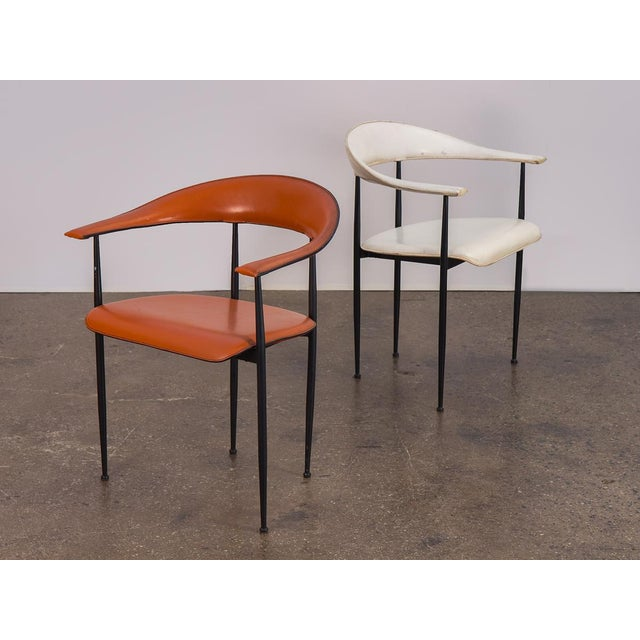 P40 Armchairs by Giancarlo Vegni and Gianfranco Gualtierotti - a Pair For Sale - Image 12 of 12