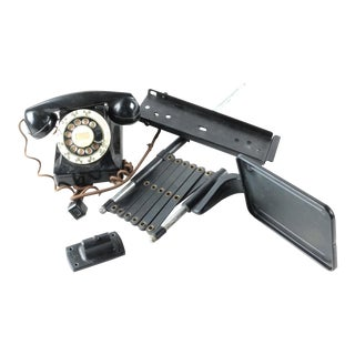 Elsinchorst Rotary Dial Phone With Complete Wall Mount