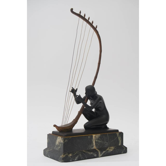 This piece was acquired from a Palm Beach collection and is by the Austrian sculptor Hans Muller. Here Muller has captured...