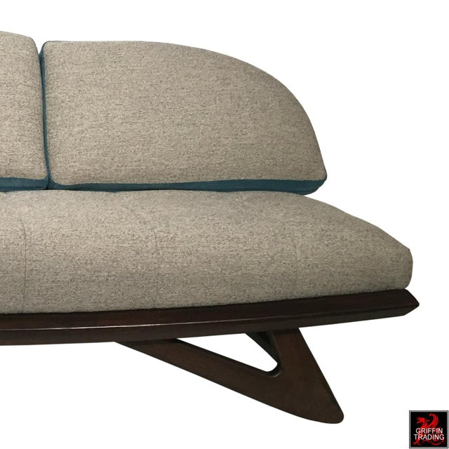 Fabric Adrian Pearsall Sofa by Craft Associates For Sale - Image 7 of 13