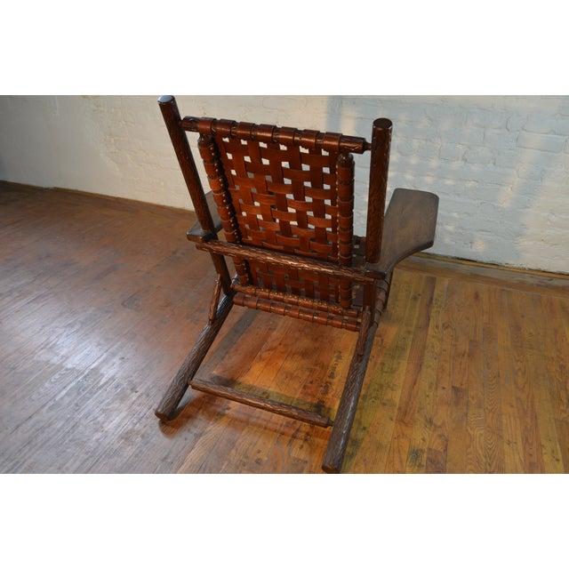 Mid Century Adirondack Chair - Image 5 of 6