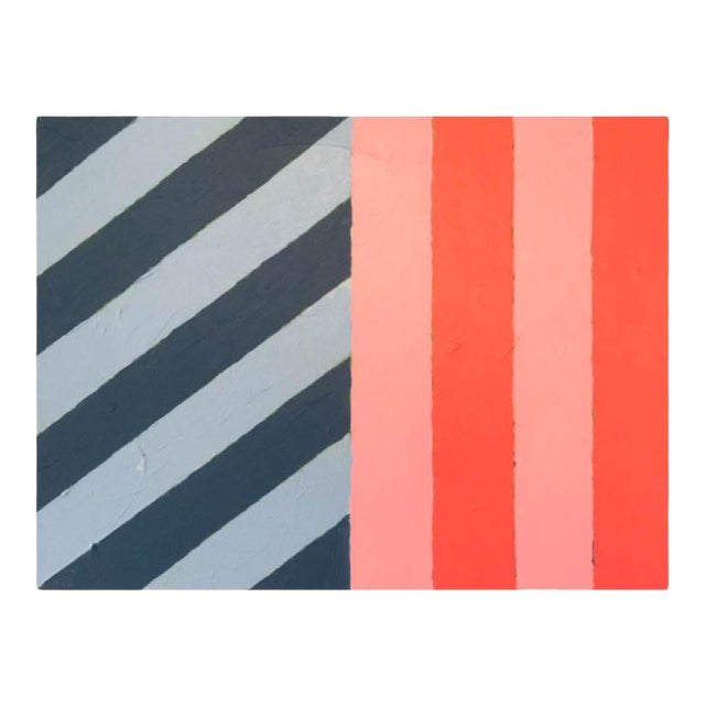 """2020 Donald Florence Abstract """"Half/Half"""" Acrylic Painting For Sale"""