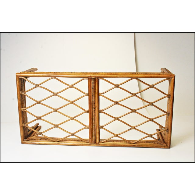 Mid-Century Bamboo Side & Coffee Tables - A Pair - Image 11 of 11