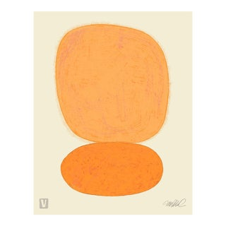 Tangerine over Tangerine, Premium Giclee Print For Sale