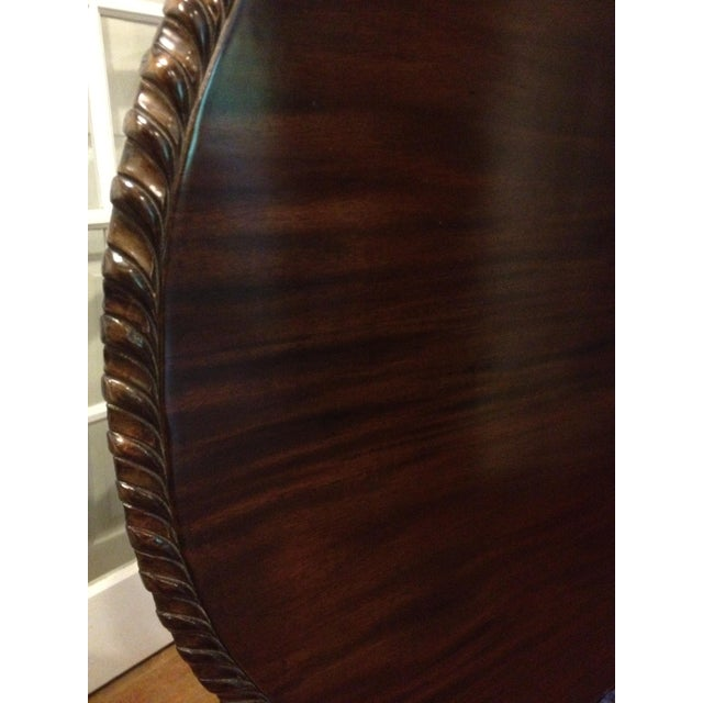 Georgian Rosewood Tilt-Top Pedestal Table - Image 8 of 11