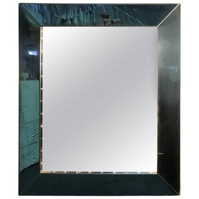 Silver 1970's Infinity Mirror For Sale - Image 8 of 8