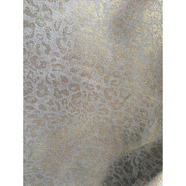 Tarnished Gold Leopard Linen - 10 Yards - Image 2 of 6