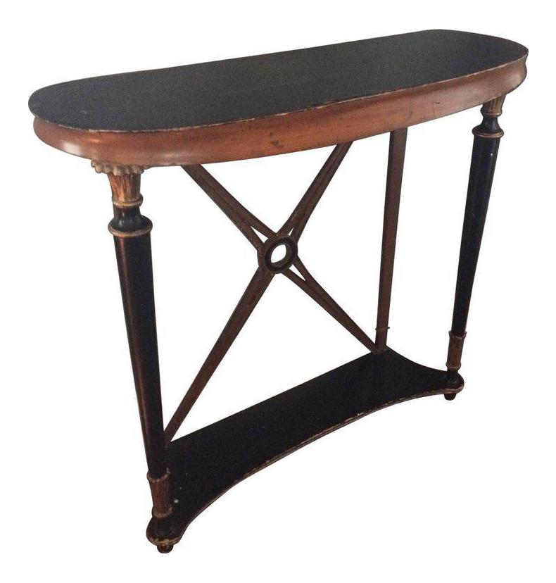 Biedermeier Style Regency Console Table