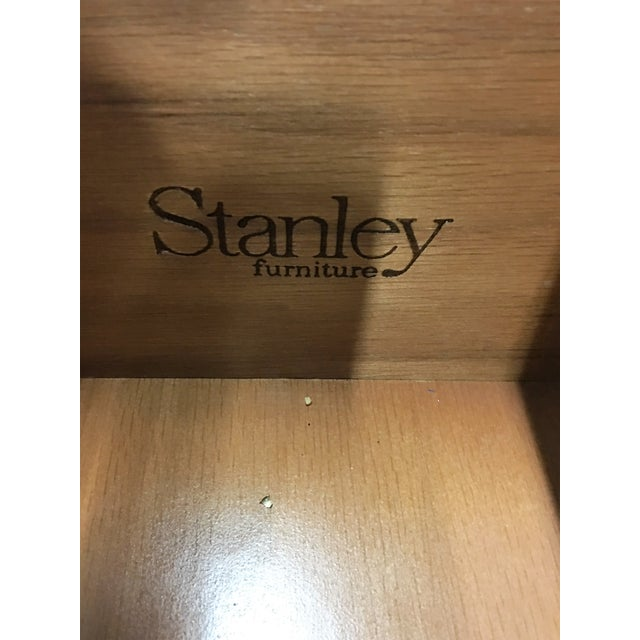 Traditional Vintage Stanley Solid Wood Nightstands - A Pair For Sale - Image 3 of 6