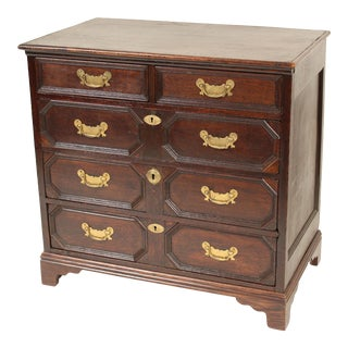 Antique Charles II Style Chest of Drawers For Sale