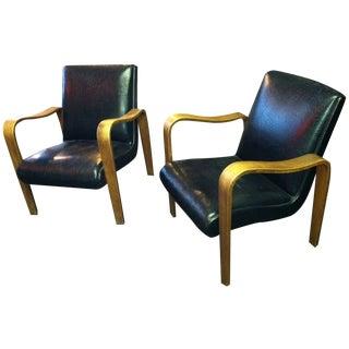Mid-Century Chairs Thonet Style of Aalto - Pair For Sale
