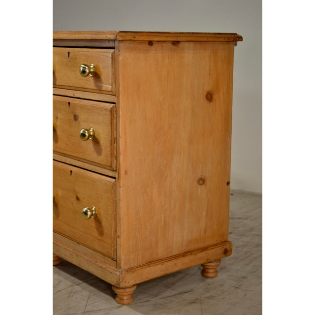 19th Century English Pine Dresser Base For Sale - Image 4 of 8
