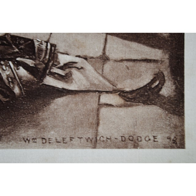 1899 Photogravure of William de Leftwich Dodge's Fidelio Opera Painting For Sale In Philadelphia - Image 6 of 8