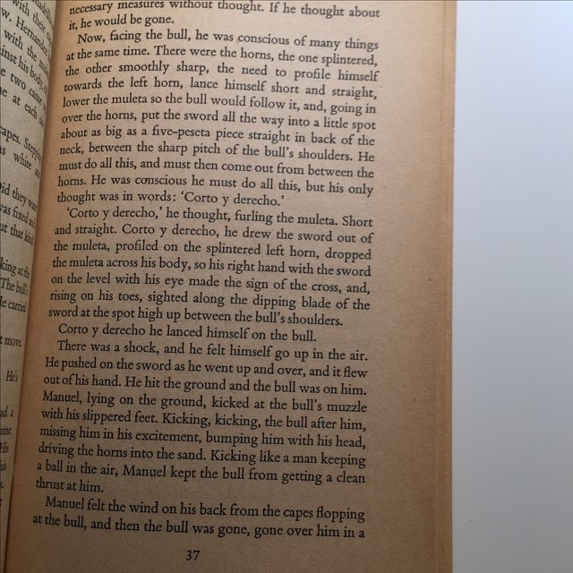 Ernest Hemingway Men Without Women Book For Sale - Image 7 of 7