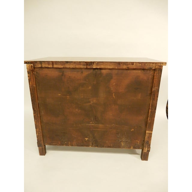 Brown 19th Century French Walnut Commode For Sale - Image 8 of 9