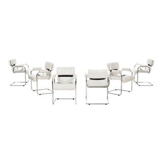 Mariani Set of 8 Dining Chairs For Sale