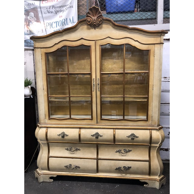 Antique Bombay China Cabinet Circa 1910 For Sale - Image 12 of 13