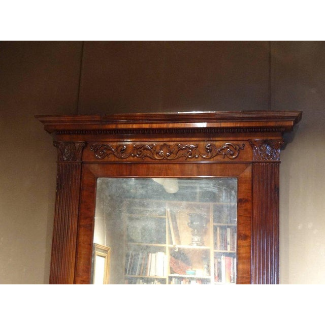 Neoclassical Neoclassical Overmantle Mirror For Sale - Image 3 of 4