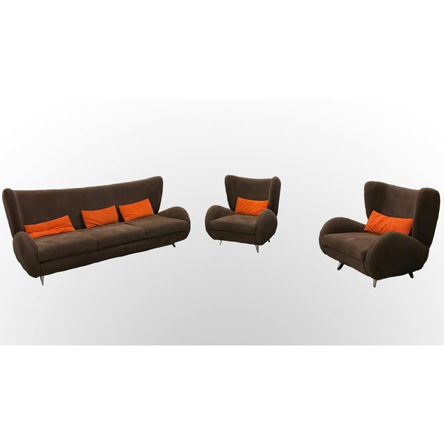 Contemporary Collection - Fiftyish by Vladimir Kagan - Set of 3 - Image 9 of 10