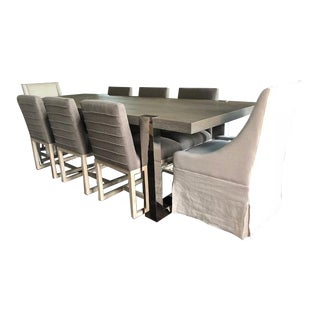 Universal Furniture Modern Collection Dining Table & Chairs
