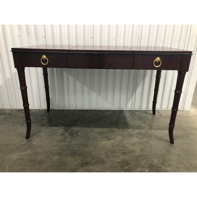 Dorothy Draper Kindel Furniture Chinoiserie Dressing Table For Sale - Image 13 of 13