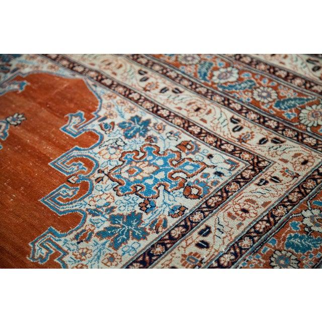 """Textile Fine Antique Haji Jalili Tabriz Rug - 3'11"""" X 5'10"""" For Sale - Image 7 of 13"""