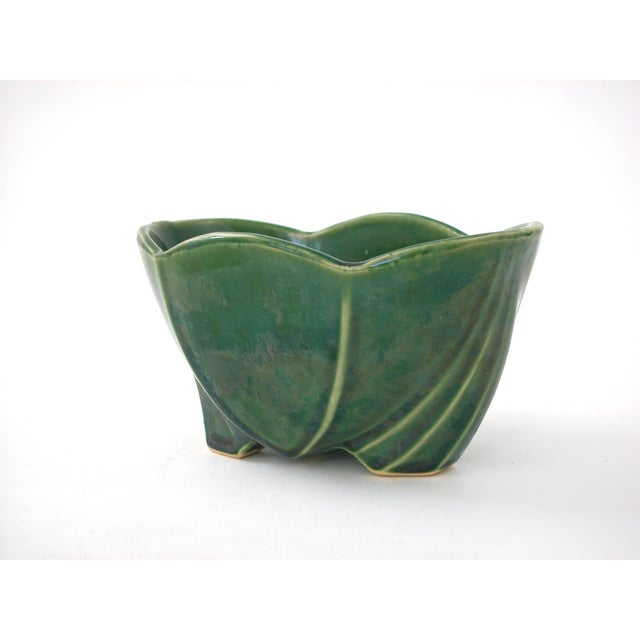 McCoy Green Pottery Vase - Image 9 of 10
