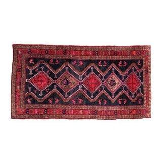 """Antique Persian Hurdish Bidjar Heriz Rug 5'x 9' 9"""""""