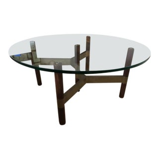 Danish Modern Design Within Reach Helix Coffee Table