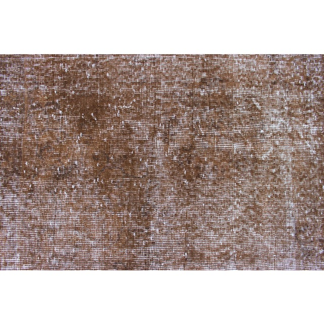 Overdyed Turkish Rug - 7′ × 10′8″ For Sale In San Diego - Image 6 of 7