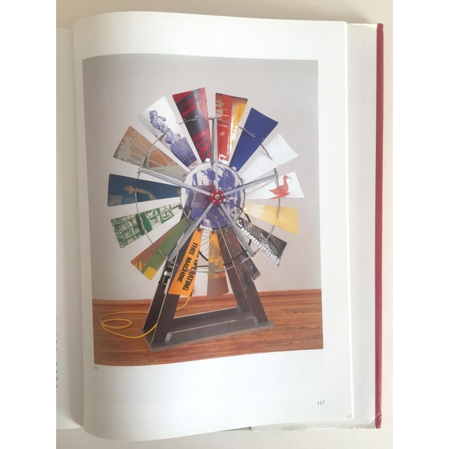 """""""Robert Rauschenberg"""" 1st Edition Vintage 1999 Collector's Art Book For Sale - Image 10 of 11"""