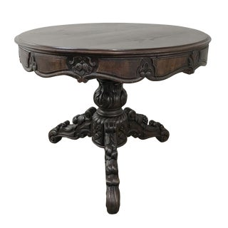 19th Century Country French Center Table For Sale