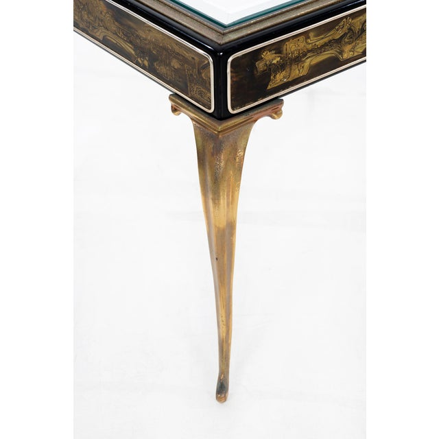 Bernhard Rohne for Mastercraft Side Table For Sale In Los Angeles - Image 6 of 9